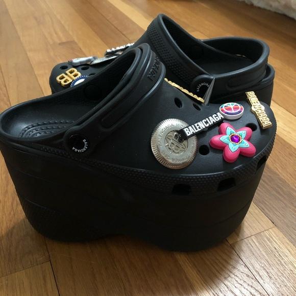 Balenciaga Foam Super Platform Sandals